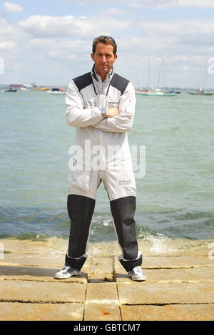 Sailing - Round The Island Preview - Ben Ainslie Photocall - Island Sailing Club - Stock Photo