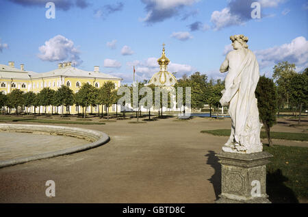geography / travel, Russia, Sankt-Peterburg, Peterhof Palace, 1972, Additional-Rights-Clearences-NA - Stock Photo
