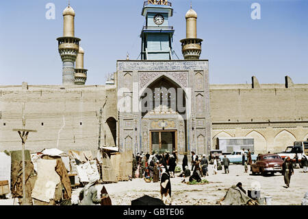 geography / travel, Iraq, religion, Al-Kadhimiya Mosque near Baghdad, 1955, Additional-Rights-Clearences-Not Available - Stock Photo