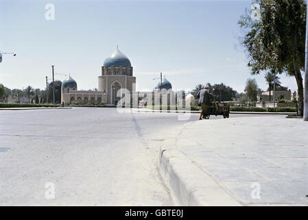 geography / travel, Iraq, Baghdad, view, Royal Mausoleum, 1955, Additional-Rights-Clearences-Not Available - Stock Photo