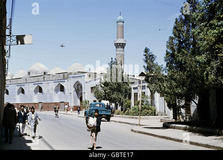 geography / travel, Iraq, Baghdad, mosque, 1955, Additional-Rights-Clearences-Not Available - Stock Photo
