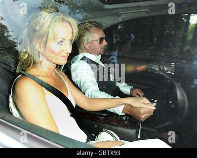 Elton John's White Tie and Tiara Ball - Stock Photo