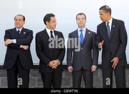 Italy G8 Summit - Stock Photo