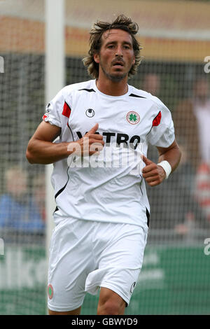 Soccer - Pre Season Friendly - RW Oberhausen v NEC Nijmegen - Groesbeek - Stock Photo