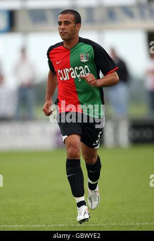 Soccer - Pre Season Friendly - RW Oberhausen v NEC Nijmegen Groesbeek - - Stock Photo