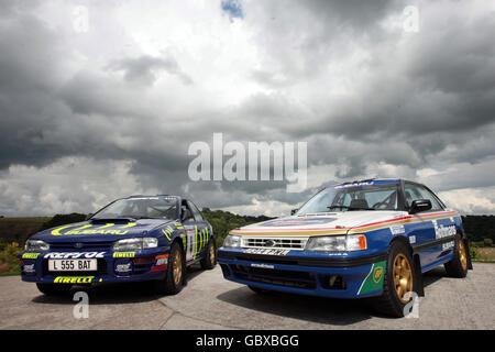 Colin McRae's rally cars - Stock Photo