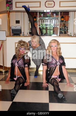 Kimberly Wyatt Bring Your Heels photocall - London - Stock Photo