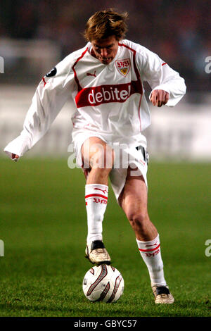 Soccer - UEFA Cup - Group G - VFB Stuttgart v Benfica - Stock Photo