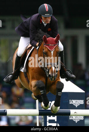 Equestrian - Longines Royal International Horse Show - Hickstead - Stock Photo