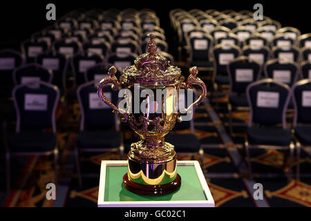 Rugby Union - IRB 2015 and 2019 Rugby World Cup Host Announcement - Burlington Hotel - Stock Photo
