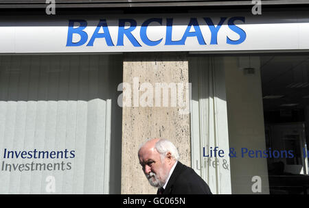 Barclays profits soar - Stock Photo