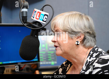 Ann Widdecombe on London's Biggest Conversation - Stock Photo