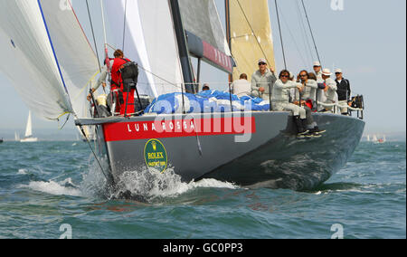 Sailing - 2009 Rolex Fastnet Race - The Solent - Stock Photo