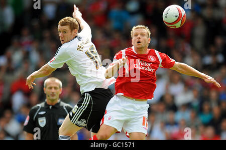 Soccer - Coca-Cola Football Championship - Nottingham Forest v Derby County - City Ground - Stock Photo