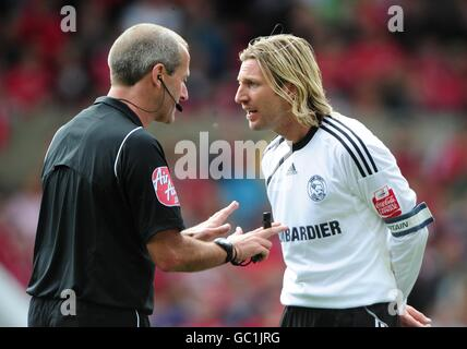 Soccer - Coca-Cola Football League Championship - Nottingham Forest v Derby County - City Ground - Stock Photo