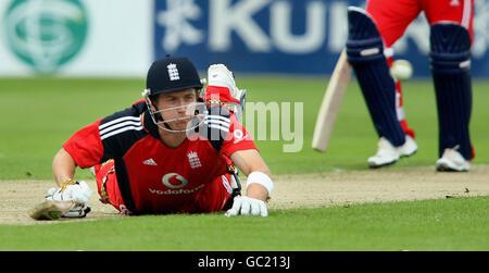 Cricket - One Day International - Ireland v England - Belfast - Stock Photo