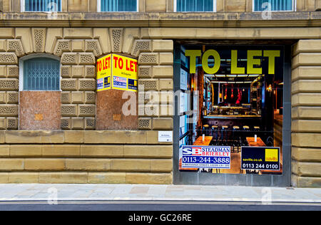 Industrial building to let in Little Germany, Bradford, West Yorkshire, England UK - Stock Photo