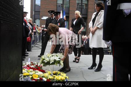 Annual International Firefighters Service of Remembrance - Stock Photo
