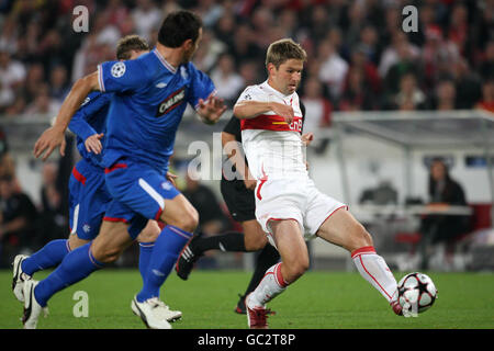 Soccer - UEFA Champions League - Group G - VfB Stuttgart v Rangers - Mercedes-Benz Arena - Stock Photo