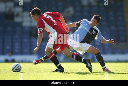 Soccer - Coca-Cola Football League Two - Bury v Cheltenham Town - Gigg Lane - Stock Photo