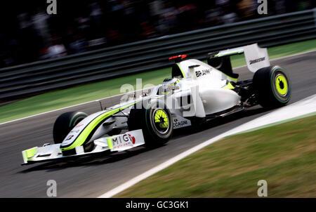 Formula One Motor Racing - Italian Grand Prix - Practice Day - Monza - Stock Photo