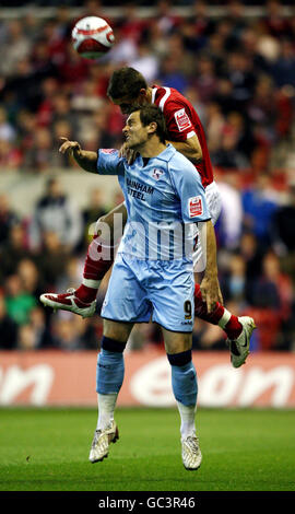 Soccer - Coca-Cola Football League Championship - Nottingham Forest v Scunthorpe United - City Ground - Stock Photo