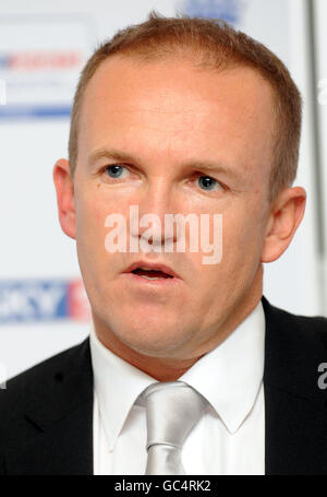 Cricket - England Press Conference - Lord's - Stock Photo