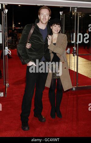 London Film Festival - Men Who Stare At Goats premiere - Stock Photo