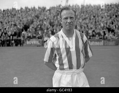 Soccer - League Division Two - Ipswich Town v Stoke City - Portman Road - 1958 - Stock Photo