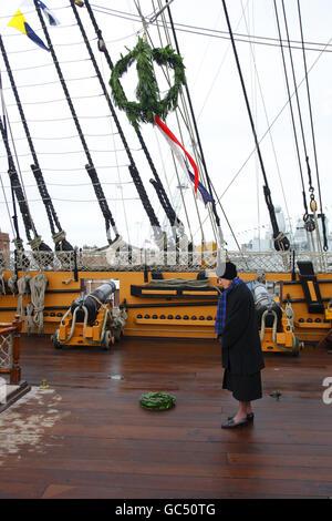Trafalgar Day - Stock Photo