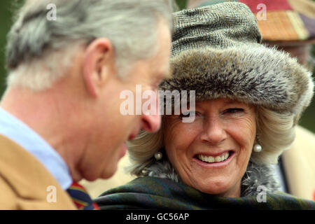 The Prince of Wales and the Duchess of Cornwall visit Canada - Stock Photo