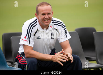 Cricket - England Nets Practice Session - University of Free State - Stock Photo