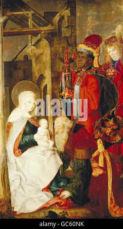 Adoration of the Magi, 1481 - Stock Photo