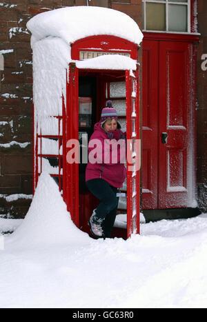 Winter weather - Stock Photo