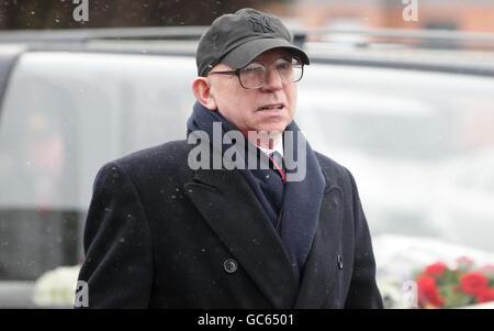 Albert Scanlon Funeral - Manchester - Stock Photo