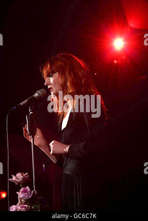 Little Noise Sessions - Florence and the Machine - London - Stock Photo