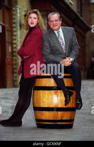 DAVID JASON AND CAROLINE HARKER - Stock Photo