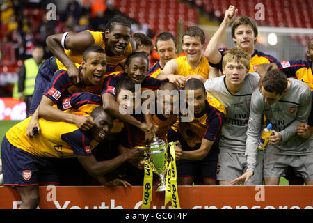 Soccer - FA Youth Cup - Final - Second Leg - Liverpool v Arsenal - Anfield - Stock Photo