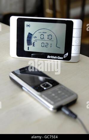Energy monitor - Stock Photo