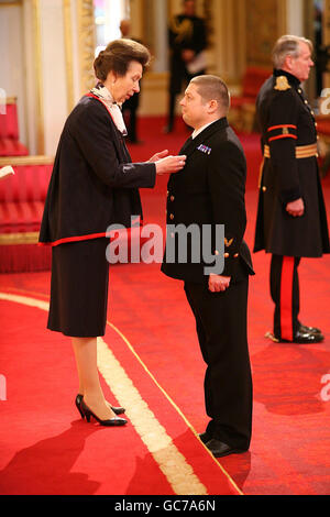 Investitures at Buckingham Palace - Stock Photo