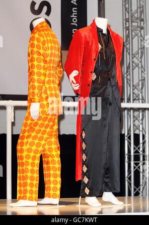 Elton John and David Furnish launch 'Out the Closet' - London - Stock Photo