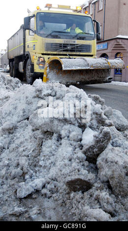 Winter weather Jan08th - Stock Photo