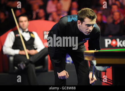 Snooker - The Pokerstars.com Masters 2010 - Day Eight - Wembley Arena - Stock Photo