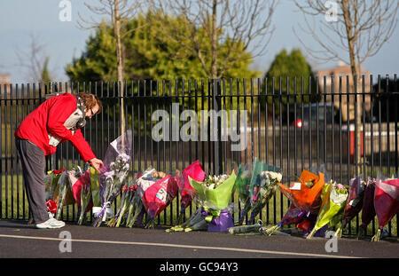 Dublin stabbing - Stock Photo