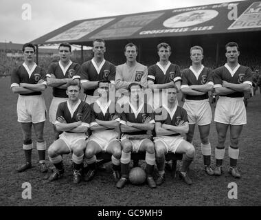 Soccer - The World Cup 1958 - Eliminator Matches - Second Leg - Wales v Israel - Ninian Park - Cardiff - 1958 - Stock Photo