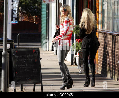 Alex Curran in Liverpool - Stock Photo