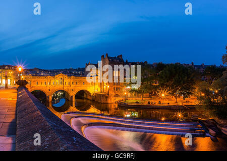Bath and River Avon - Stock Photo