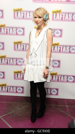 Katia Ivanova arrives at the Loaded LAFTAS Awards 2010 at the Cuckoo Club in London.