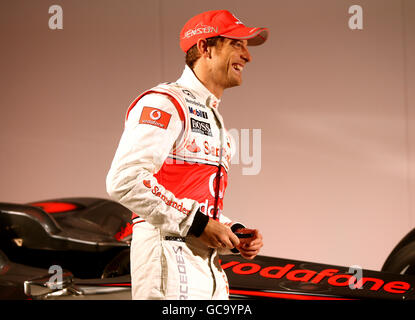 Motor Racing - McLaren Car Launch - Team Headquarters - Stock Photo