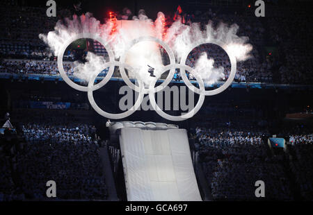 Winter Olympics - 2010 Winter Olympic Games Vancouver - Opening Ceremony - Stock Photo